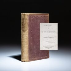 First edition of Honor; or, The Slave-Dealer's Daughter, by Stephen G. Bulfinch.