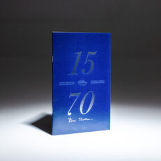 Official program from the Clinton Foundation, celebrating the Seventieth Birthday of President Clinton and Fifteen Years of the Clinton Foundation.