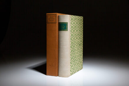From the Limited Editions Club, Ovid's Metamorphoses in Fifteen Books.