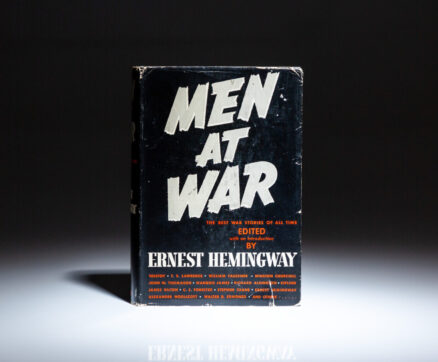 First edition, first printing of Men At War, edited by Ernest Hemingway.