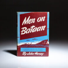 First edition, first printing of Men on Bataan by John Hersey.