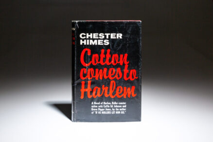 First edition of Cotton Comes To Harlem by Chester Himes.