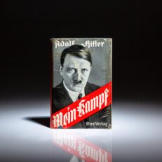 People's Edition of Mein Kampf, printed in 1936, in scarce dust jacket.