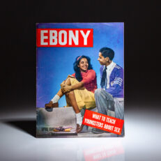 """Ebony magazine from April of 1948, with the headline article titled """"What To Teach Youngsters About Sex."""""""