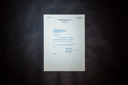 Letter signed by Senator John F. Kennedy, thanking Robert M. Moore of the Democratic National Committee.