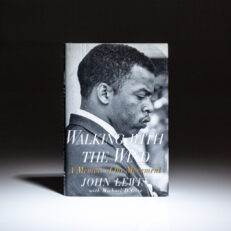 First edition, first printing of Walking with the Wind: A Memoir of the Movement by Congressman John Lewis.