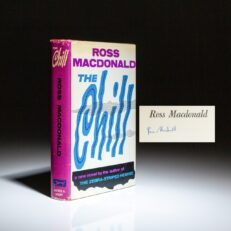 First edition of The Chill by Ross Macdonald, signed by the author.