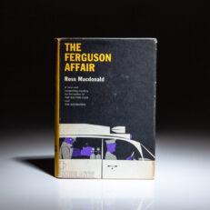 First edition of The Ferguson Affair by Ross Macdonald.