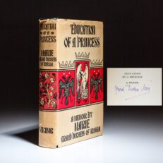 Education of a Princess, signed by Maria Pavlovna, Grand Duchess of Russia.