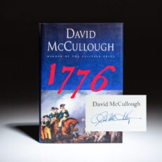 Signed first edition, first printing of 1776 by David McCullough.