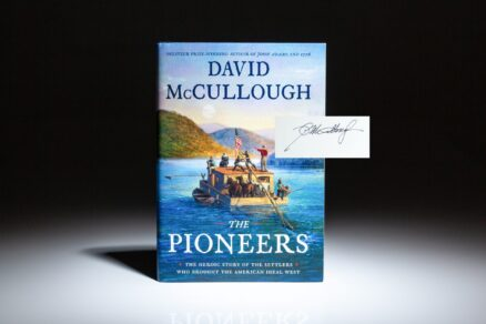 First edition, first printing of The Pioneers by David McCullough, signed by the author.