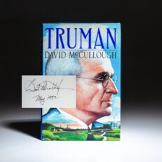 First edition, first printing of Truman by David McCullough, signed by the author.