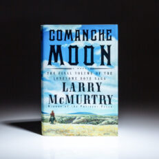 First edition of Comanche Moon by Larry McMurtry.