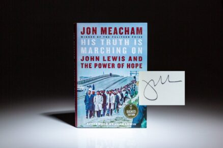 Signed first edition, first printing of His Truth Is Marching On: John Lewis and the Power of Hope.