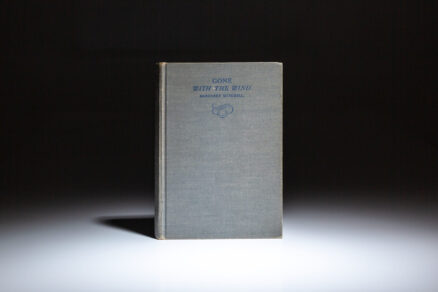 Gone with the Wind by Margaret Mitchell, first edition, second printing.
