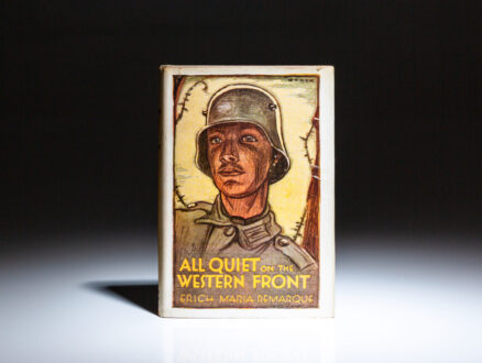 First edition of All Quiet on the Western Front by Erich Maria Remarque, in dust jacket.