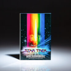 First edition, first printing of Star Trek: The Motion Picture, a novel by Gene Roddenberry.