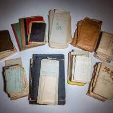 An expansive archive of letters and journals from an African American woman named Anna Jean Snowden of Dayton, Ohio.