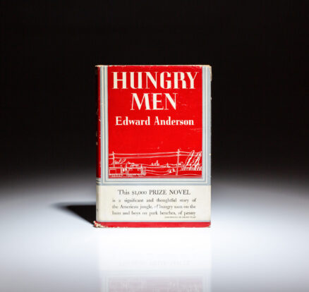 First edition of Hungry Men by Edward Anderson.