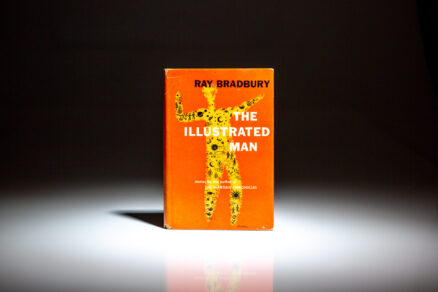 First edition, first printing of The Illustrated Man by Ray Bradbury, in the first state dust jacket.