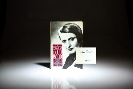 Signed copy of The Passion of Ayn Rand by Barbara Branden.