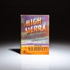 First edition of High Sierra by W.R. Burnett.