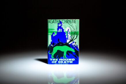First edition of Agatha Christie's The Hound of Death and Other Stories.