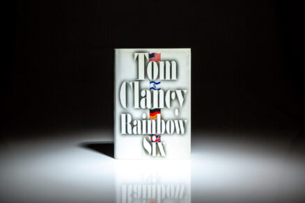 First edition, first printing of Rainbow Six by Tom Clancy.