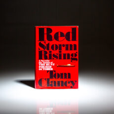 First edition, first printing of Red Storm Rising by Tom Clancy.