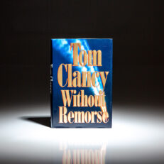 First edition, first printing of Without Remorse by Tom Clancy.