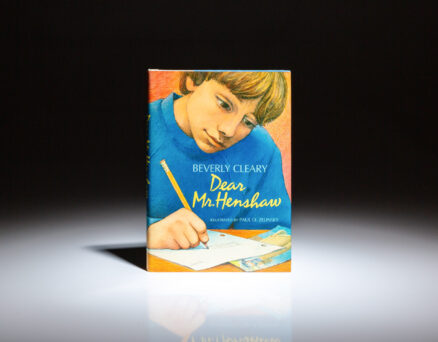First edition of Dear Mr. Henshaw by Beverly Cleary.