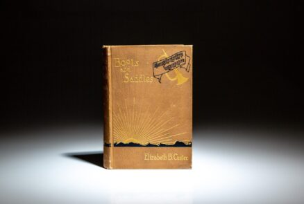 A scarce first edition, first state of Boots and Saddles by Elizabeth B. Custer.