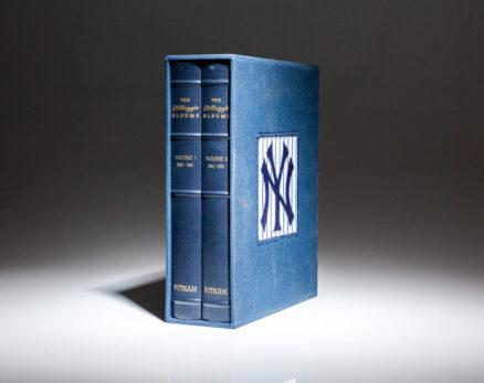 Deluxe limited edition of The DiMaggio Albums, signed by Joe DiMaggio.