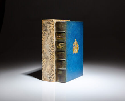 """Deluxe limited edition of A King's Story by H.R.H. the Duke of Windsor, from the author's personal collection, presented to his publisher, Bryan Gentry of Cassell & Company. This is copy """"O"""" from a limited edition of 20 letter copies."""