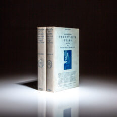 First edition of Twenty-Five Years 1892-1916, by Viscount Grey of Fallodon.