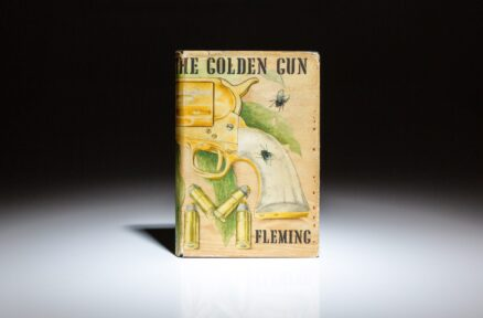 First edition of The Man with the Golden Gun by Ian Fleming, in the second state binding.