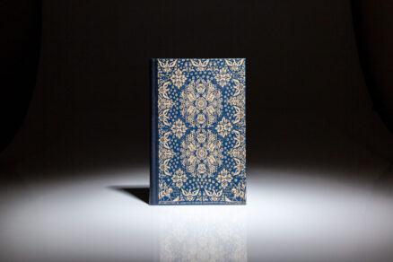 From the Limited Editions Club, The Federalist, a series of essays written by Alexander Hamilton, James Madison and John Jay, signed by the book's designer, Bruce Rogers.