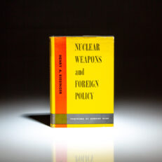 First edition, third printing of Nuclear Weapons and Foreign Policy by Henry A. Kissinger.