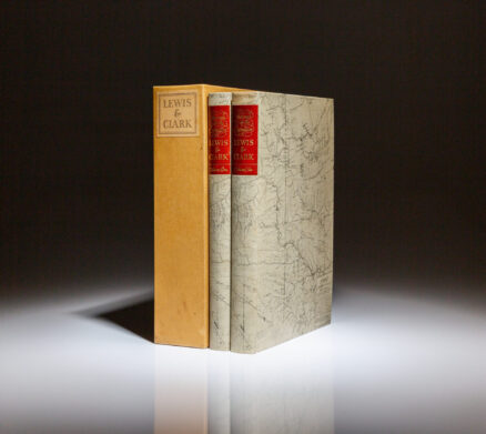 From the Limited Editions Club, The Journals of the Expedition under the Command of Capts. Lewis and Clark.