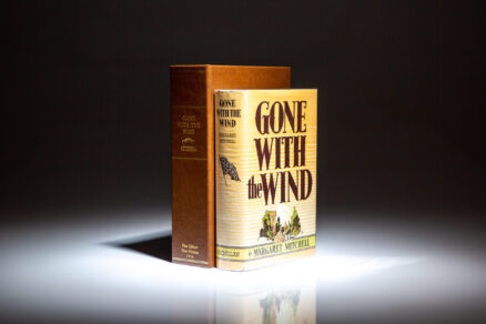 Gone With the Wind by Margaret Mitchell, first edition, first printing in scarce first state dust jacket.