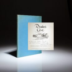 By Fleet Admiral Chester W. Nimitz, this is the story of Drake's Cove at Point Reyes National Seashore. This copy is inscribed by Admiral Nimitz.