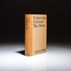 First edition of The Emperor Jones, Diff'rent and The Straw by playwright Eugene O'Neill.
