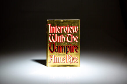 First edition, first printing of Interview with the Vampire, a novel by Anne Rice.