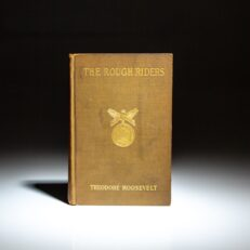 First edition, first state of The Rough Riders by Theodore Roosevelt.
