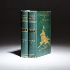 First edition of Personal Memoirs of P.H. Sheridan, the shoulder strap edition.