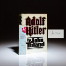 Signed first edition, first printing of Adolf Hitler by John Toland.