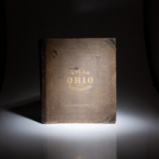 1868 Atlas of the State of Ohio by H.F. Walling of H.H. Lloyd & Company, the first edition of this atlas.