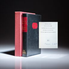 Signed limited edition of In Cold Blood by Truman Capote.