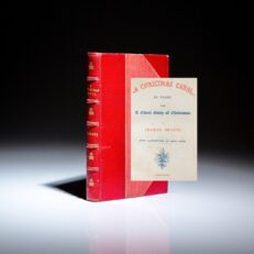 A Christmas Carol by Charles Dickens, printed in 1844, seventh edition.