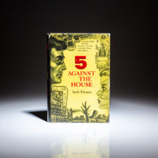 First edition of 5 Against the House by Jack Finney.